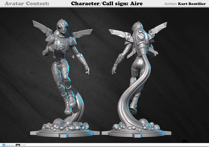 Avatar - Call sign: AIRE 3D Print 159359