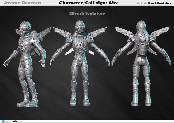 Avatar - Call sign: AIRE 3D Print 159366