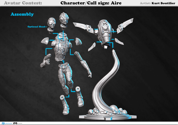 Avatar - Call sign: AIRE 3D Print 159372