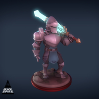 Small Energy Knight 3D Printing 159447