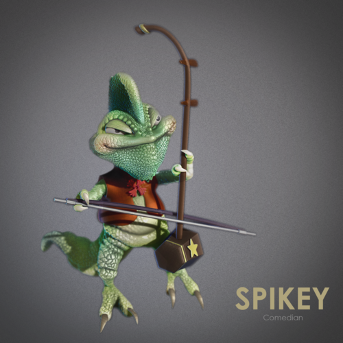 Spikey the comedian 3D Print 159458