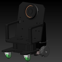 Small miniWheelChairBot4 3D Printing 159595