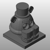 Small Freddy-five nights at freddy's 3D Printing 159614