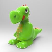 Small Dragon Toon 2 3D Printing 159666