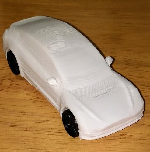 3D Printed Tesla Model 3 By Kpaulsen