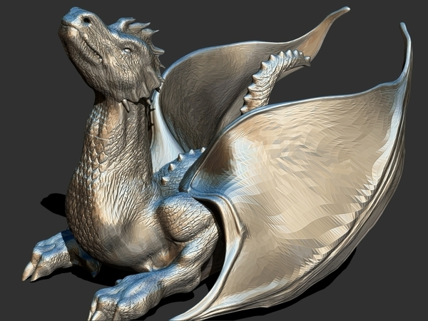 Medium The Dragon 3D Printing 159903