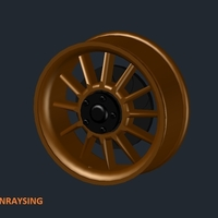 Small RONRAYSING RACING SPINNER 3D Printing 159994