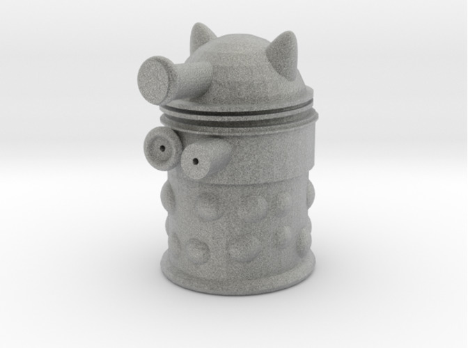 hollow dalek 3D Print 16021
