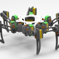 Small Hexapod Experience 3D Printing 160702