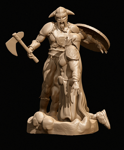 The Viking (Avatar) 3D Print 160781