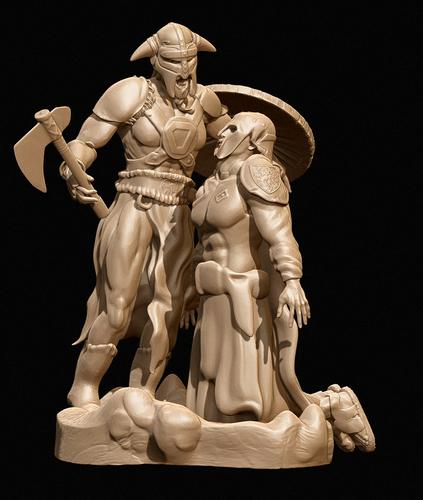 The Viking (Avatar) 3D Print 160782