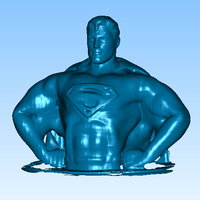 Small superman 3D Printing 16091