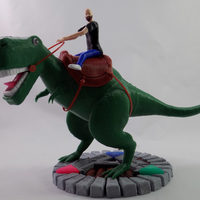 Small KING - My Awesome T-Rex Companion 3D Printing 161315