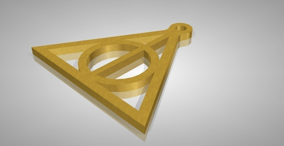 Deathly Hallows 3D Print 161339