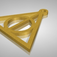 Small Deathly Hallows 3D Printing 161339