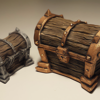 Small Treasure chest 3D Printing 161517