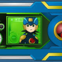 Small Megaman.exe stream PET 3D Printing 161533