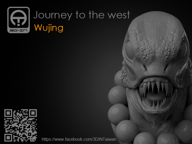Journey to the West - Sha_Wujing 3D Print 161704