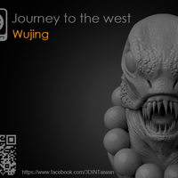 Small Journey to the West - Sha_Wujing 3D Printing 161704