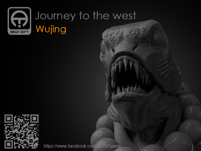 Journey to the West - Sha_Wujing 3D Print 161705