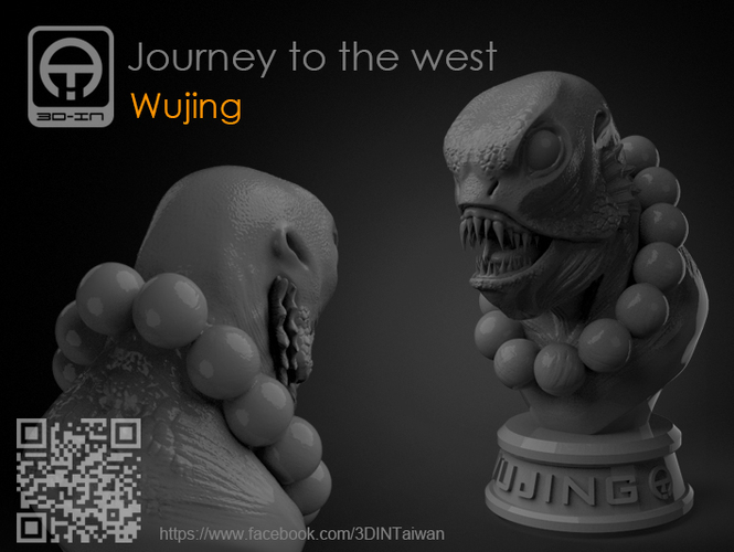 Journey to the West - Sha_Wujing 3D Print 161706