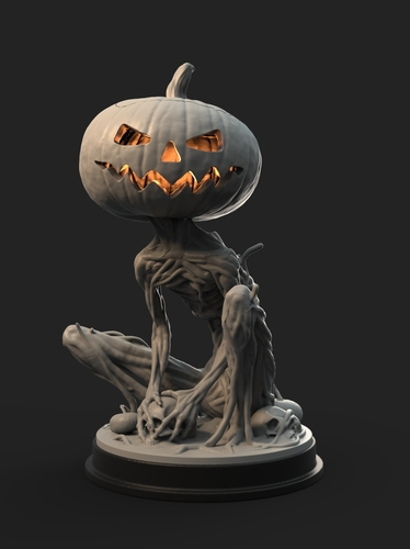 Pumpkin Monster 3D Print 161753