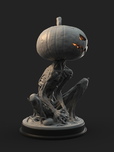 Pumpkin Monster 3D Print 161756