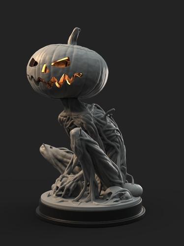 Pumpkin Monster 3D Print 161757