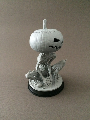 Pumpkin Monster 3D Print 161759