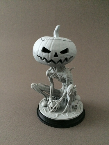 Pumpkin Monster 3D Print 161761