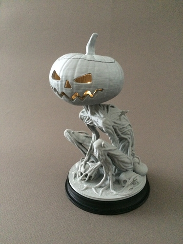 Pumpkin Monster 3D Print 161764