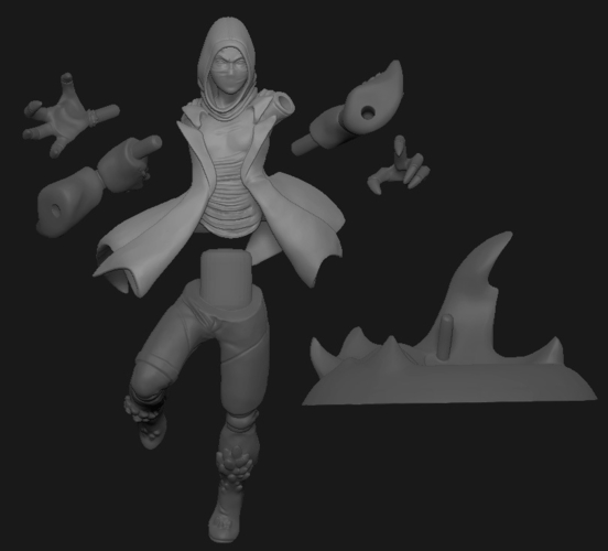 Disguised Avatar, done for pinshape contest 3D Print 161911