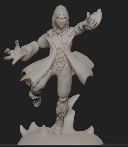 Disguised Avatar, done for pinshape contest 3D Print 161919