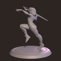 Small Avatar - Warrior Artist 3D Printing 162102