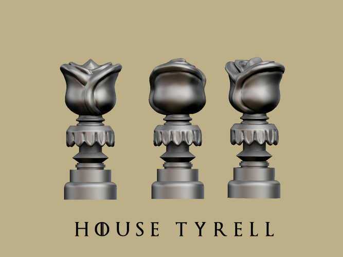 Game of thrones - Tyrell marker 3D Print 162456