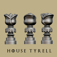 Small Game of thrones - Tyrell marker 3D Printing 162456