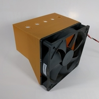 Small 120 mm computer fan to 60 x 120 mm manifold 3D Printing 162589