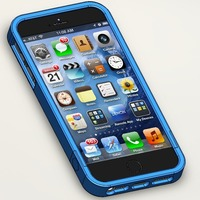 Small iPhone 5/5S case/bumper 3D Printing 16260