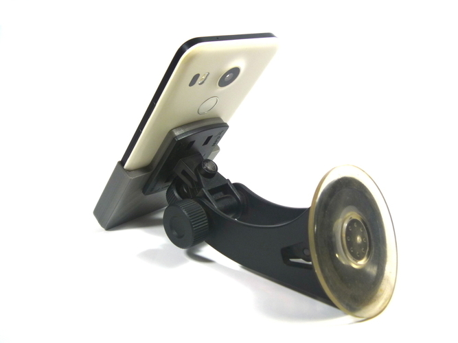 Nexus 5X Car Mount 2 3D Print 162639