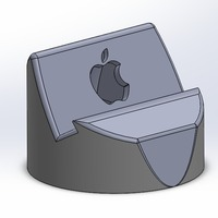 Small iPhone 5/5s dock 3D Printing 16266