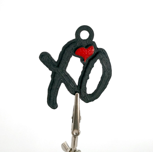 The Weeknd XO Keychain Thing 3D Print 162667
