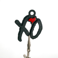 Small The Weeknd XO Keychain Thing 3D Printing 162667