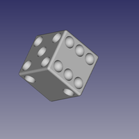 Small Dado or dices 3D Printing 162794