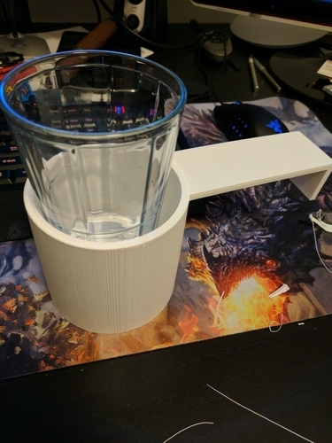 Customizable Couch Cup Holder 3D Print 162812