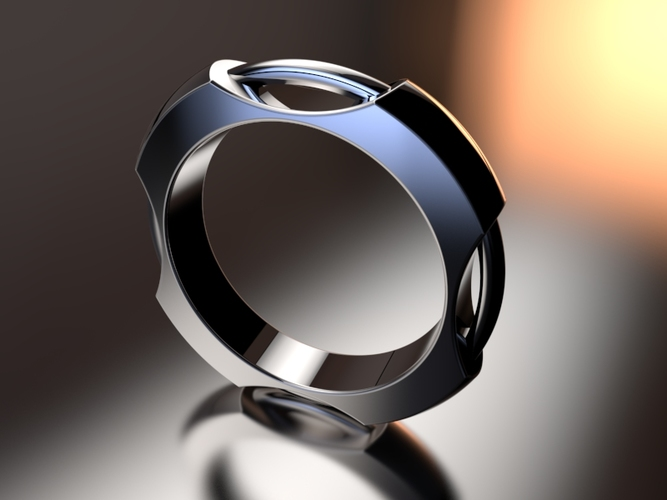 Concentric Ring 3D Print 16284