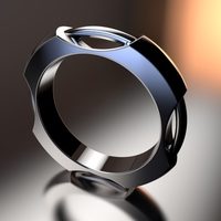 Small Concentric Ring 3D Printing 16284