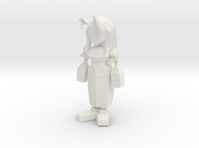Aeris Low Poly 3D Print 162851