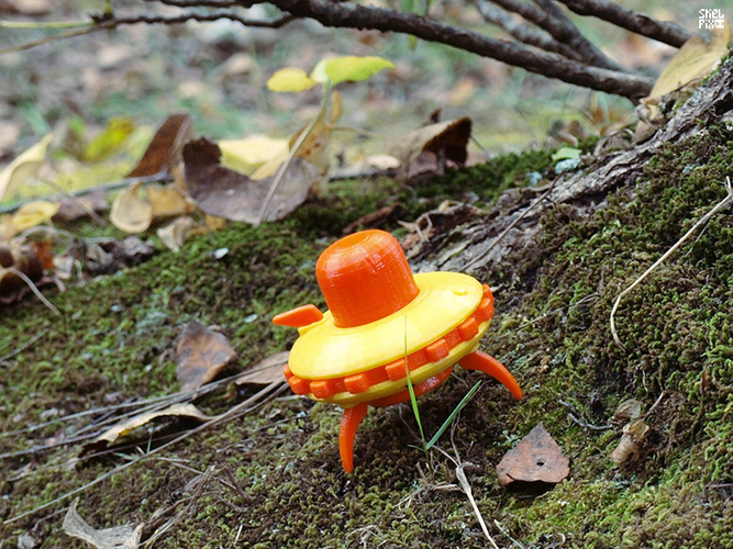 Little UFO (basic) 3D Print 162871