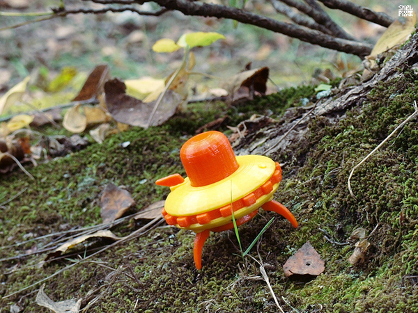 Medium Little UFO (basic) 3D Printing 162871