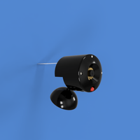 Small Raspi Security Camera 3D Printing 162879